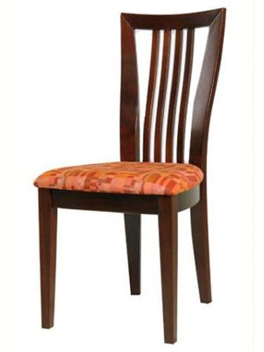 Serrano  szék léces támlával